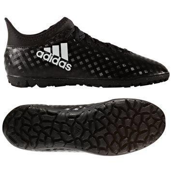 Adidas X 16.3 TF Chequered Black Musta/Valkoinen Lapset