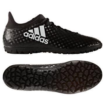 Adidas X 16.3 TF Chequered Black Musta/Valkoinen