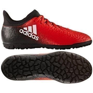 Adidas X 16.3 TF Red Limit Punainen/Valkoinen/Musta Lapset