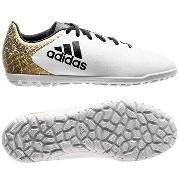 Adidas X 16.3 TF Stellar Pack Valkoinen/Musta/Kulta Lapset