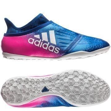 Adidas X Tango 16+ PureChaos IN Blue Blast Sininen/Valkoinen/Pinkki