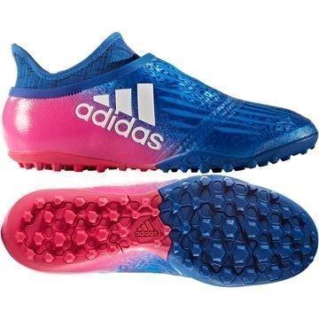 Adidas X Tango 16+ PureChaos TF Blue Blast Sininen/Valkoinen/Pinkki