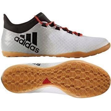 Adidas X Tango 16.2 IN Red Limit Valkoinen/Musta/Harmaa