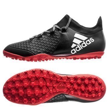Adidas X Tango 16.2 TF Red Limit Musta/Valkoinen/Punainen