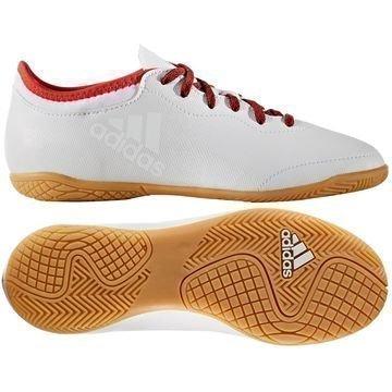 Adidas X Tango 16.3 IN Red Limit Valkoinen/Punainen Lapset