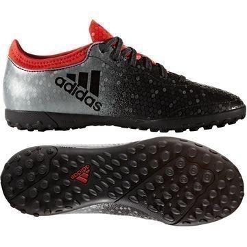 Adidas X Tango 16.3 TF Red Limit Musta/Punainen Lapset