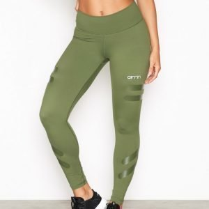 Aim'n Green Tribe High Waist Treenitrikoot Vihreä