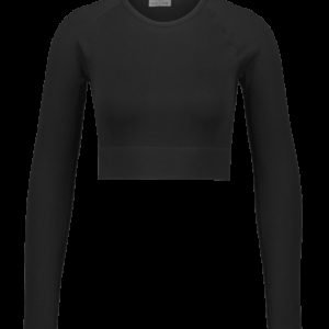 Aim'n Ribbed Seamless Crop Long Sleeve Treenipaita