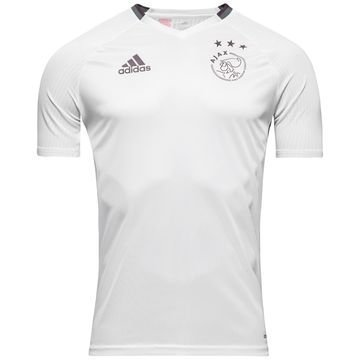 Ajax Treenipaita Valkoinen/Musta