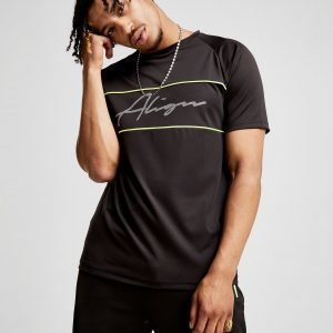 Align Signature Poly T-Shirt Musta