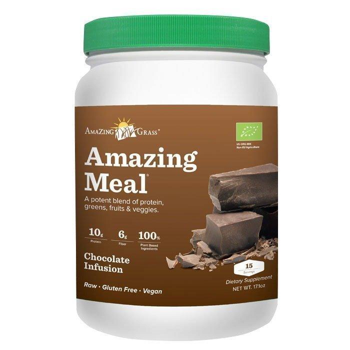 Amazing Grass Amazing Meal Choklad 508 grammaa