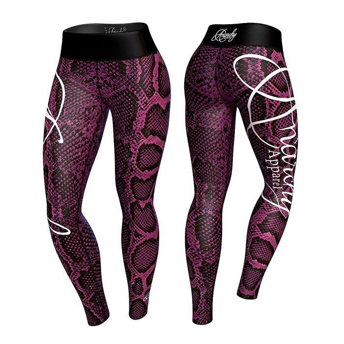 Anarchy Boa Legging Pink/Black XL