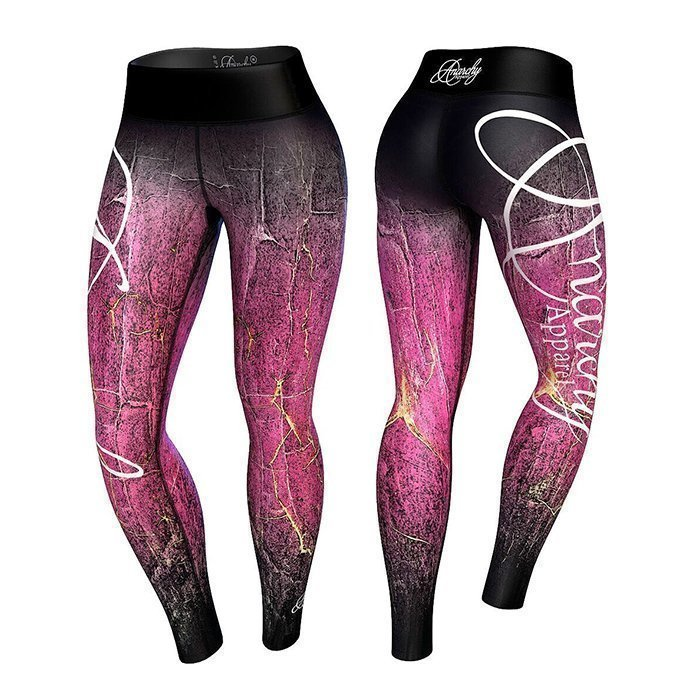 Anarchy Demonia Legging Pink/Black XL