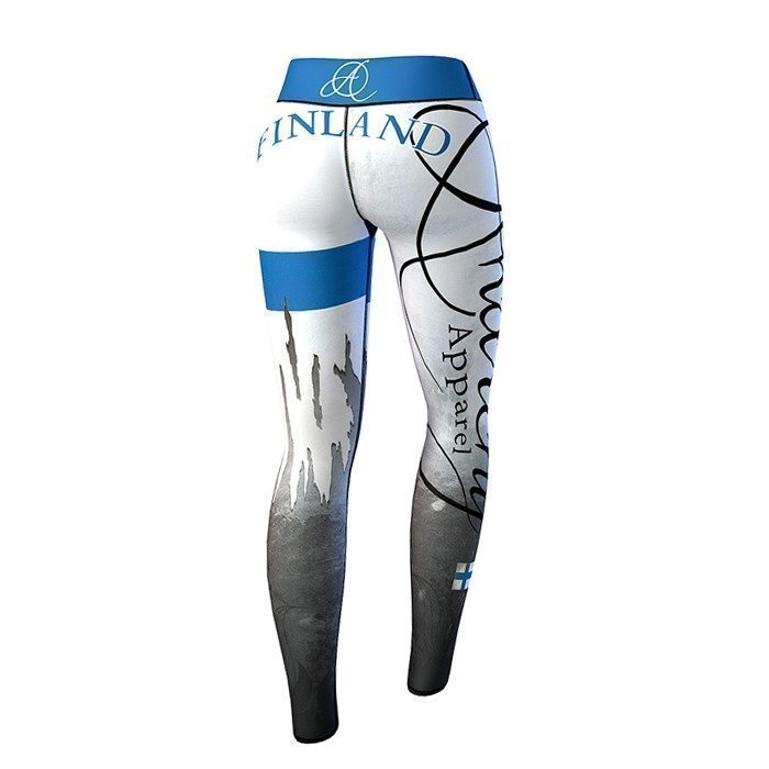 Anarchy Finland Nation Legging white/blue