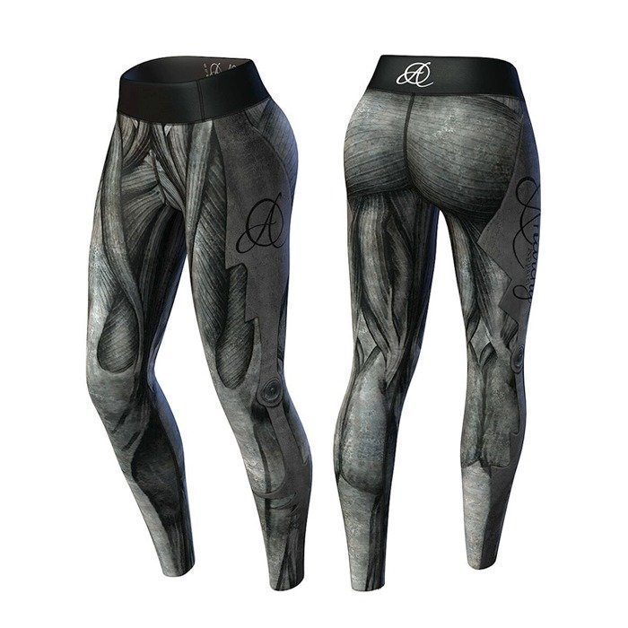 Anarchy Giger Legging black/gray