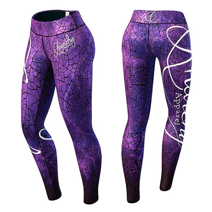 Anarchy Lava Legging purple/black M