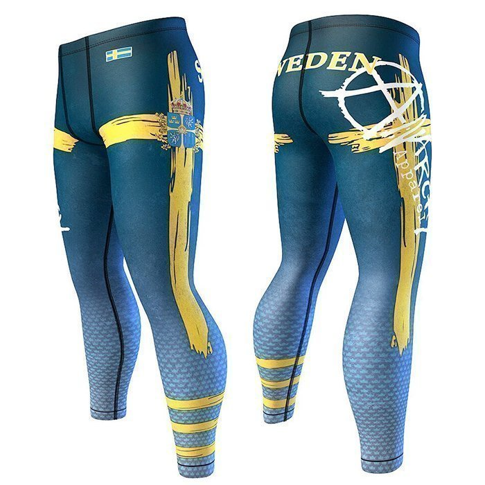 Anarchy Legion For Men Compression Blue/Yellow XL