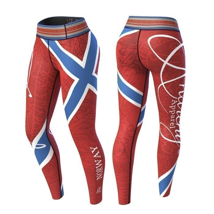 Anarchy Norway Nation Legging 2.0 red/blue