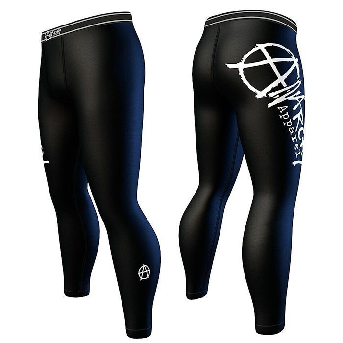 Anarchy Panther For Men Compression Black/White XXL