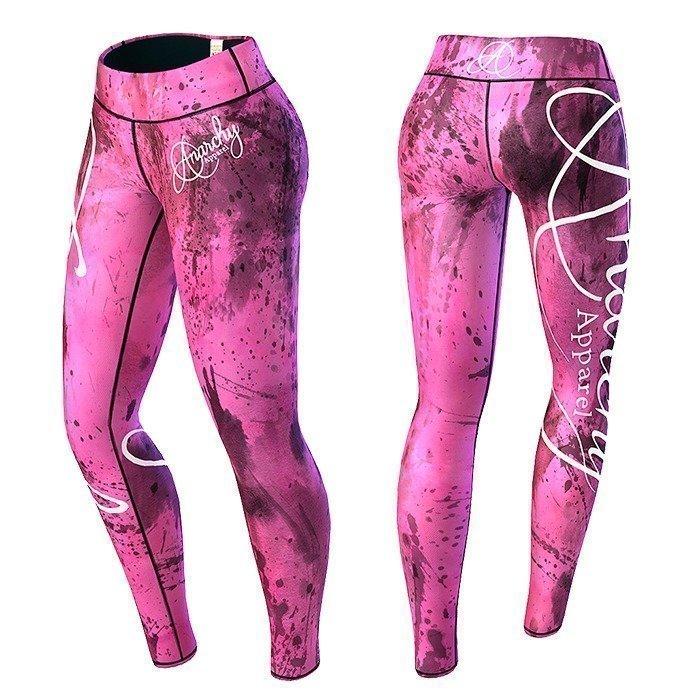 Anarchy Pink Mechanic Legging pink/black