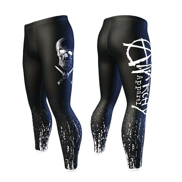 Anarchy Vertex Men's Tights black/gray XXL