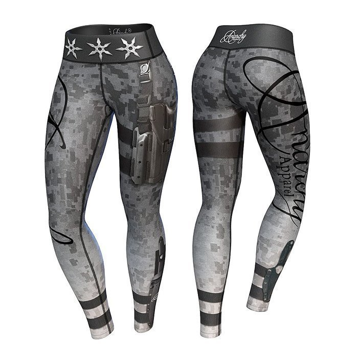 Anarchy Vigilante Legging Gray/Black
