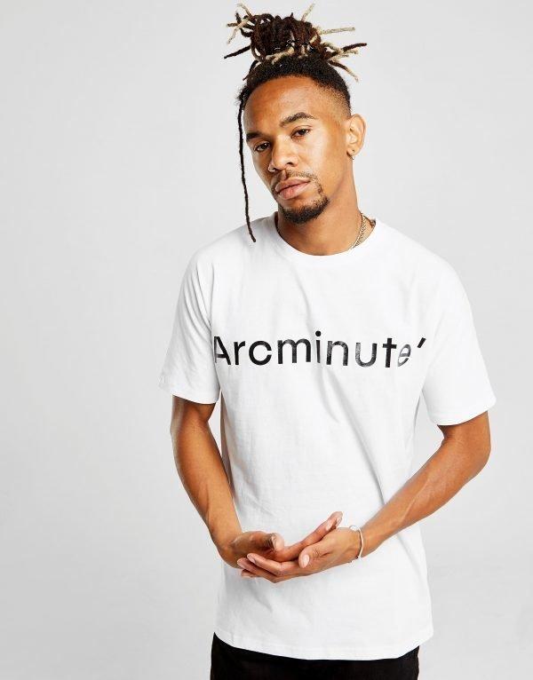 Arcminute Large Front Logo T-Paita Valkoinen
