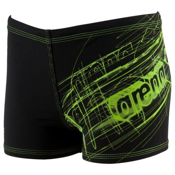 Arena B Drawy Jr Short mus/vih 8-9 Black