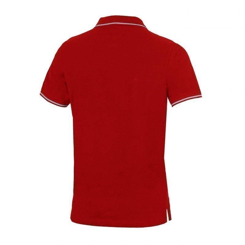 Arena Chassis polopaita punainen L Unisex red/metallic grey