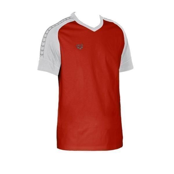 Arena Clamp t-paita red/white S Unisex punainen/valkoinen