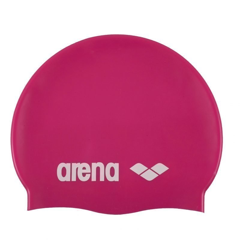 Arena Classic silicone JR lakki fuch fuchsia/white