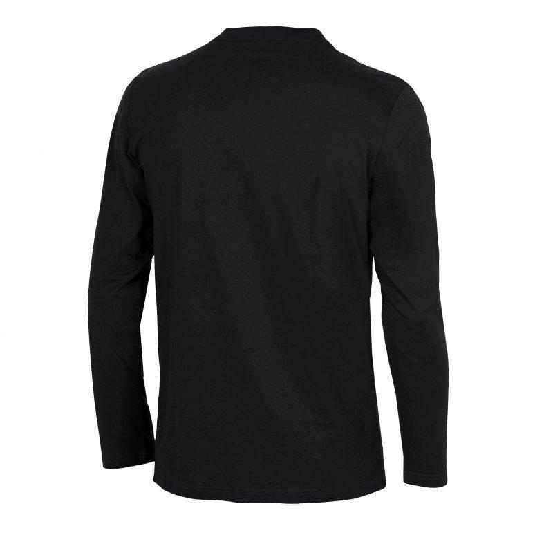 Arena Elfie long sleeve black S Unisex black/metallic grey