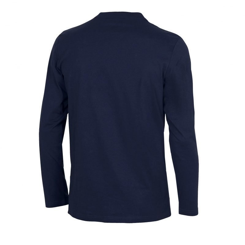 Arena Elfie long sleeve navy M Unisex navy/metallic grey