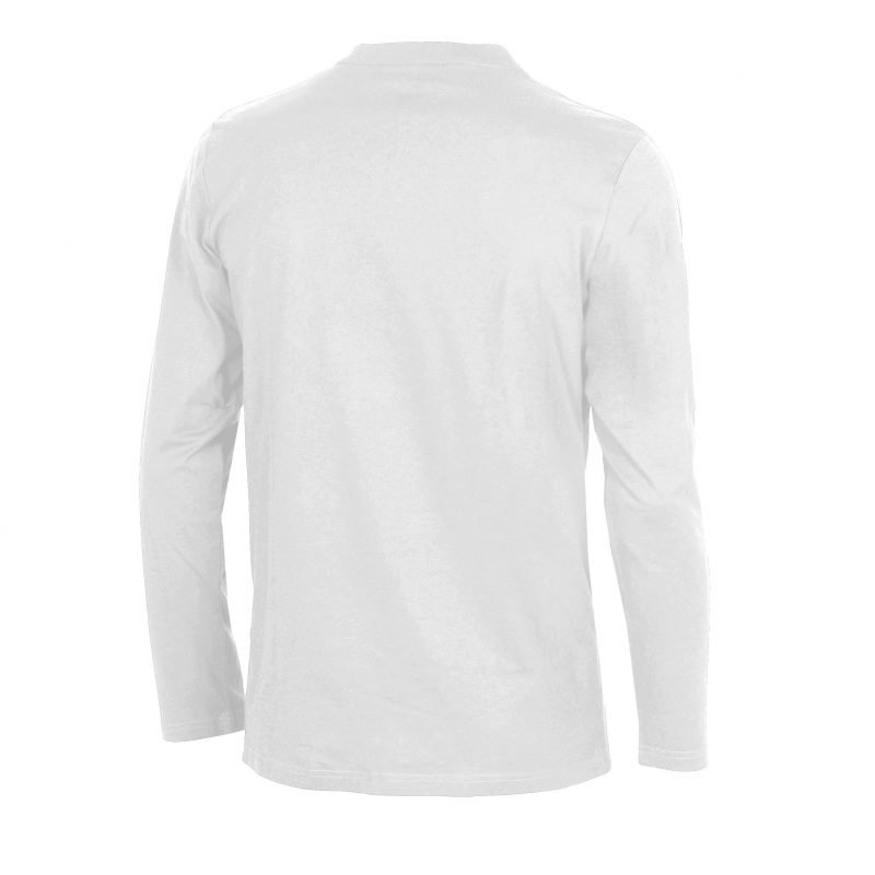 Arena Elfie long sleeve white L Unisex white/metallic grey