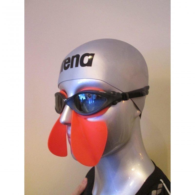 Arena Freestyle Breather fluo red Harjoitusväline vapaauintiin