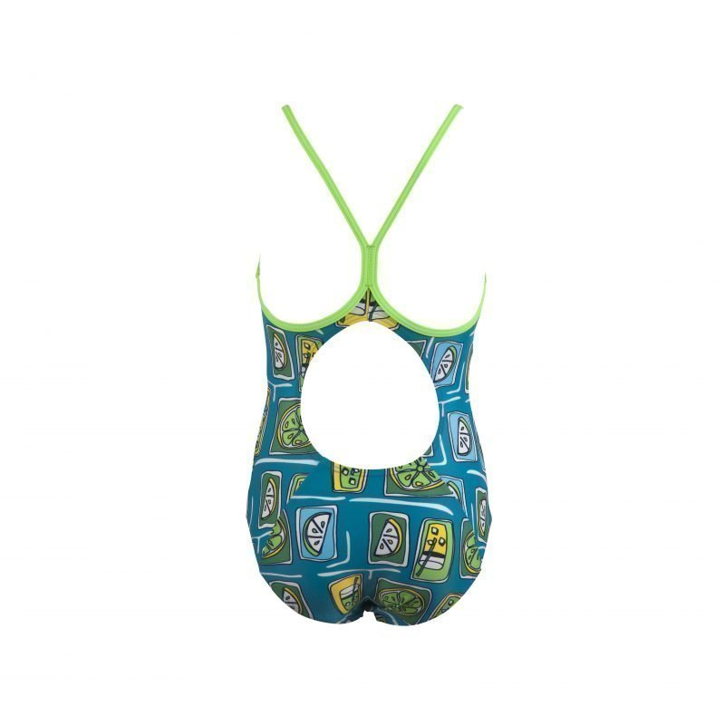 Arena Fruit Jr u.puku turko/vihr 14Y Turquoise/green
