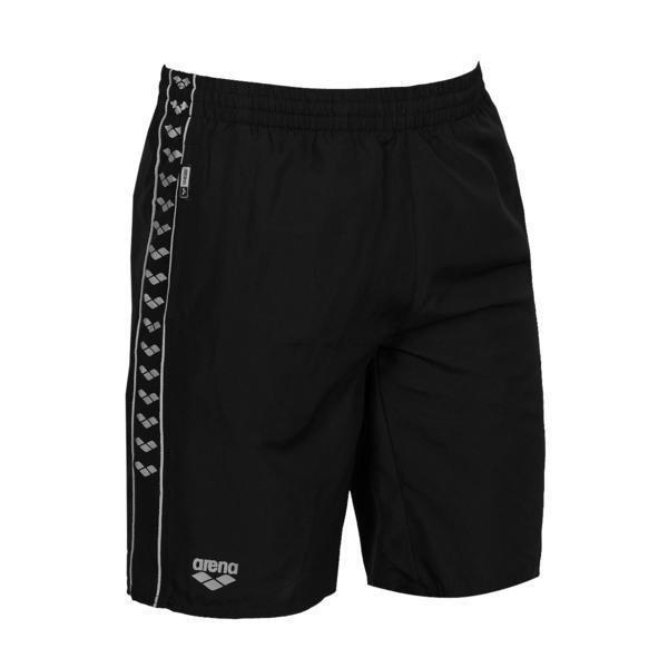 Arena Gauge pool bermuda black 10Y Sr+Jr black/metallic grey