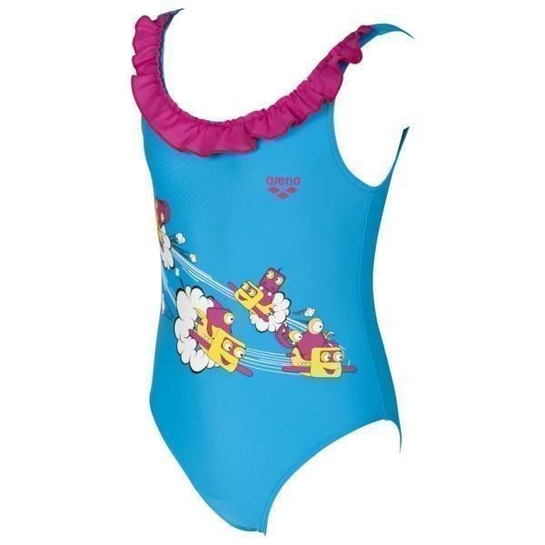 Arena Kg Swash Kids G Turk/Pink 2-3 Turquoise