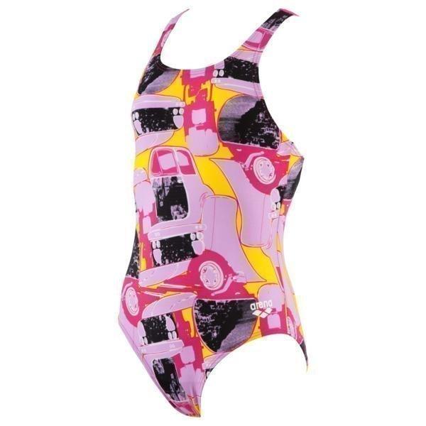 Arena Mechanic Jr Swim Pro violet 6Y Rose_Violet
