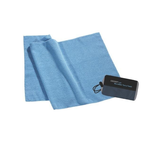 Arena Microfiber Terry Towel blue M Light froteepyyhe 90x50cm
