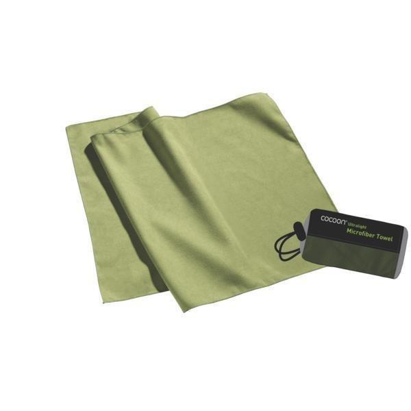 Arena Microfiber Towel green S Ultralight pyyhe 60cm x 30cm