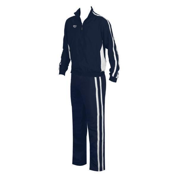 Arena Prival track jacket navy M Tuulipuvun takki tummansininen