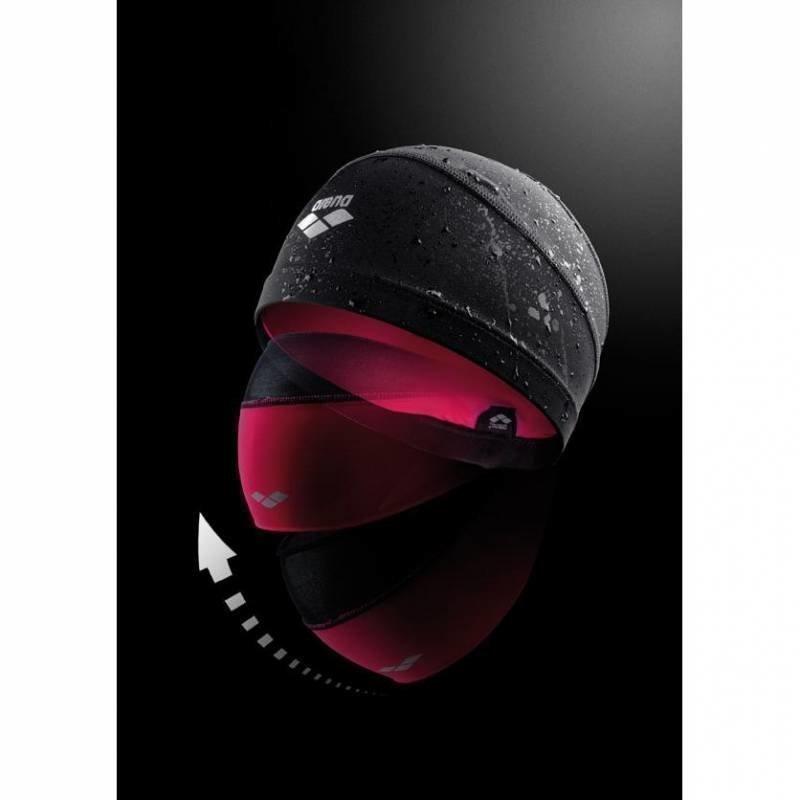 Arena Smart cap uimalakki pitkähiuksille black/petunia