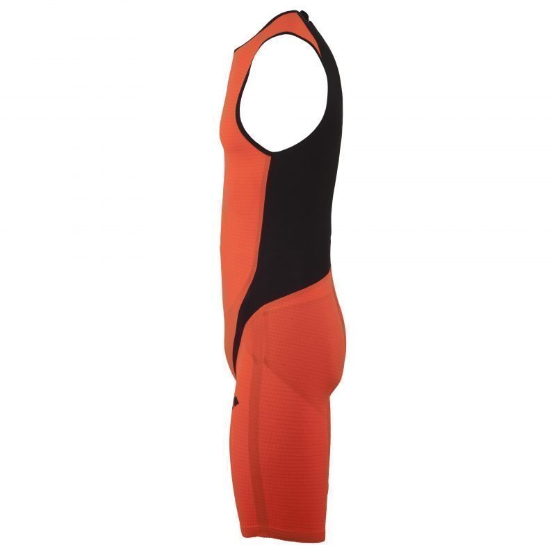 Arena TriSuit Carbon pro ZIP close L Orange/black