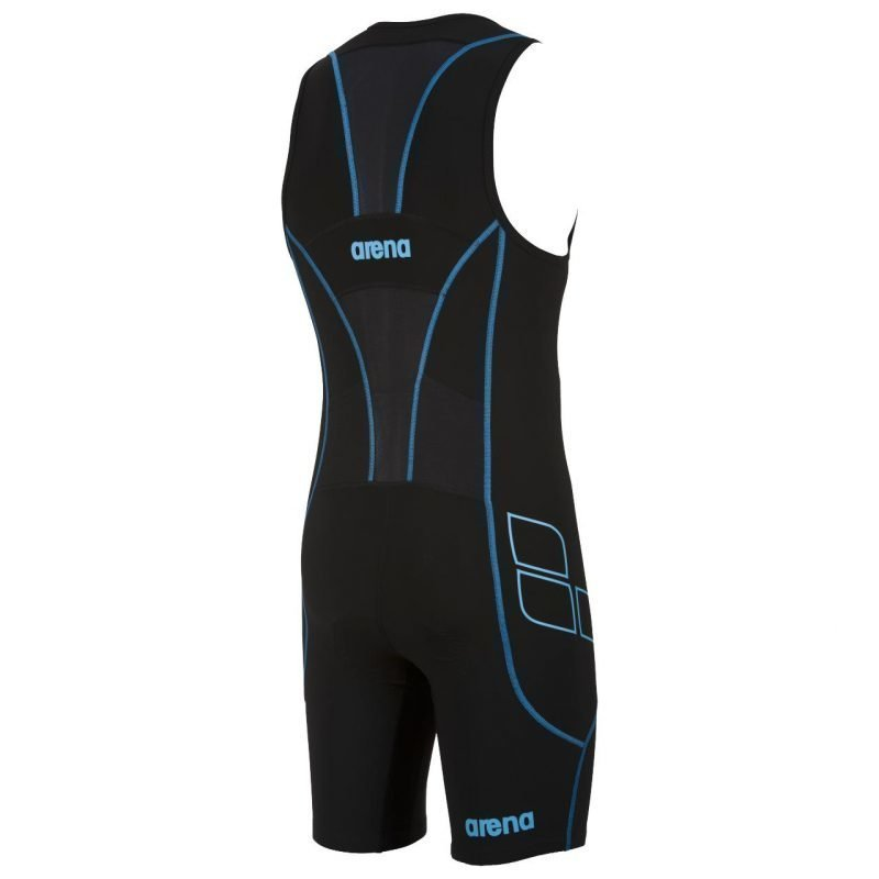 Arena Trisuit ST Front Zip black L LONG DISTANCE