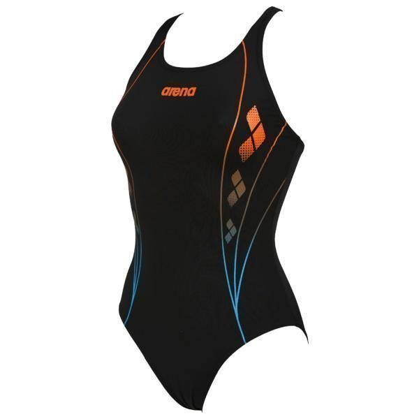 Arena W Web V-Back Mus/Turk 38 Black