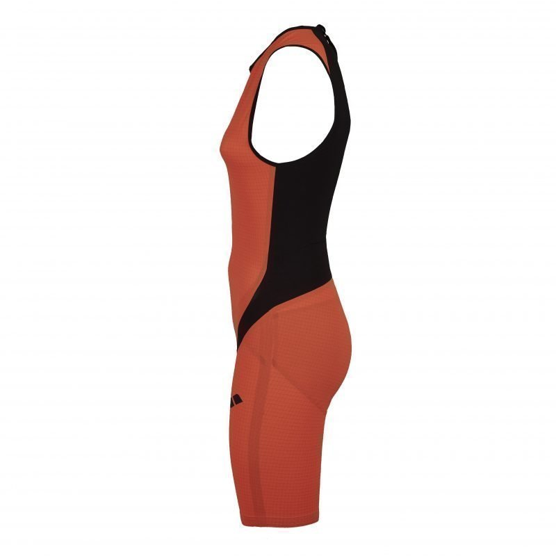 Arena Wms TriSuit Carbon pro ZIP L Orange/black