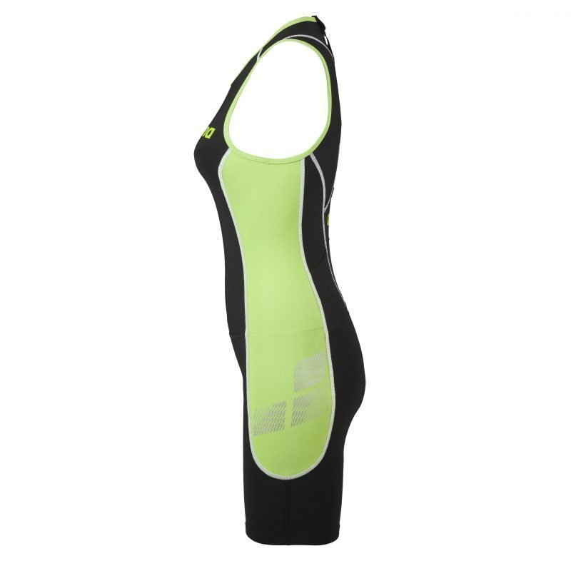 Arena Wms TriSuit ST X-raptor ZIP L Black/green Close