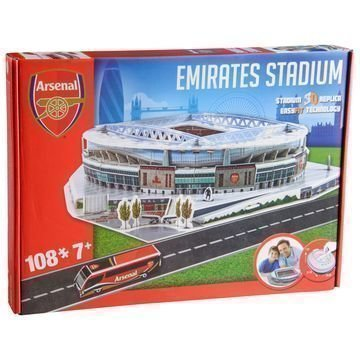 Arsenal 3D Palapeli Emirates Stadium