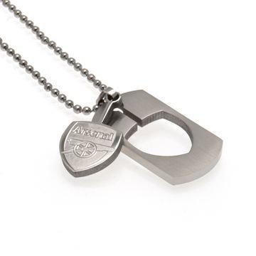 Arsenal Dog Tag & Chain